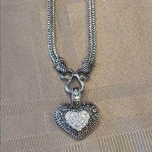 Lia Sophia Love Dust retired necklace